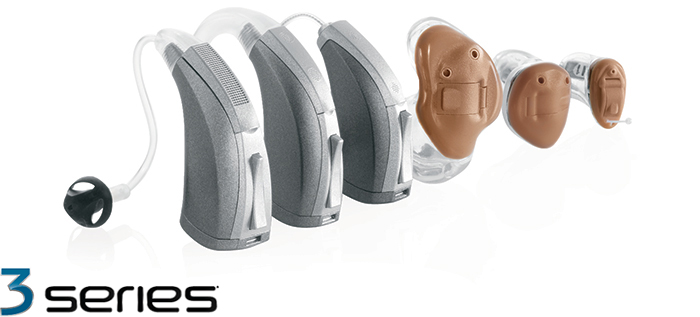 Starkey 3 Series hearing aids